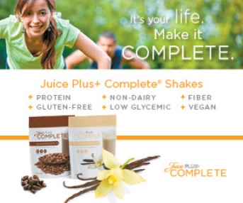 Juice Plus+® Concentrated Food Capsules • Complete® Shakes & Bars