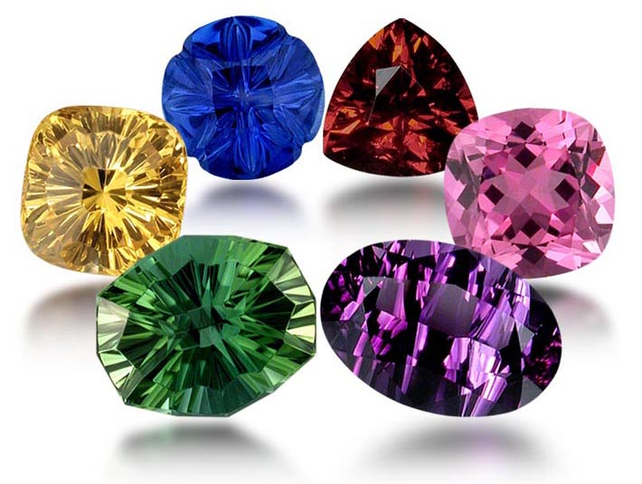 Fine Gemstones Multiple Colors