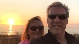 Brent & Keland Lighthouse Sunset
