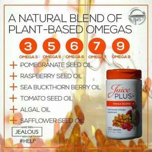 Juice Plus+ Omega Blend 3-5-6-7-9