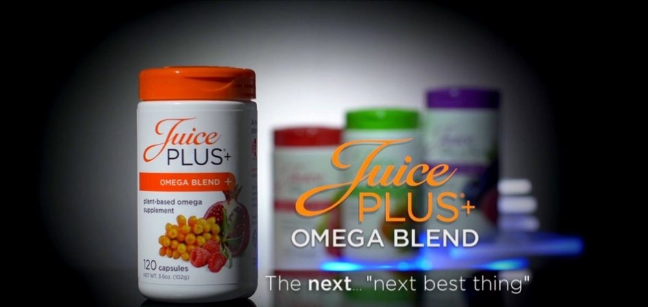 Introducing Juice Plus+ Omega Blend - Next best thing