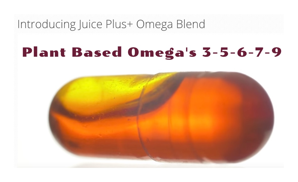 Juice Plus+ Omega Blend - Vegan Capsule 3-5-6-7-9