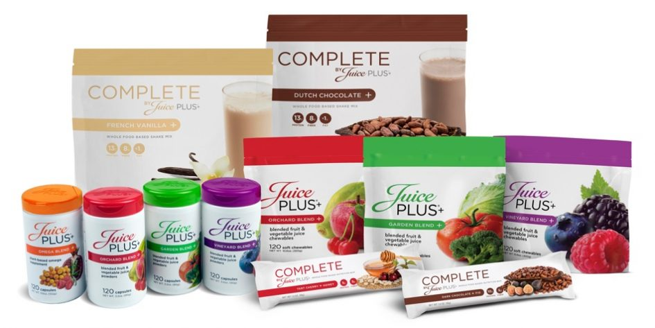 All Juice Plus Products • Brent's Health & Wellness