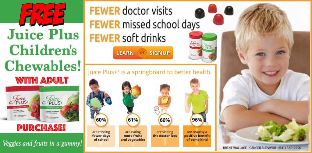 Free Children's Chewables • Brent's Health