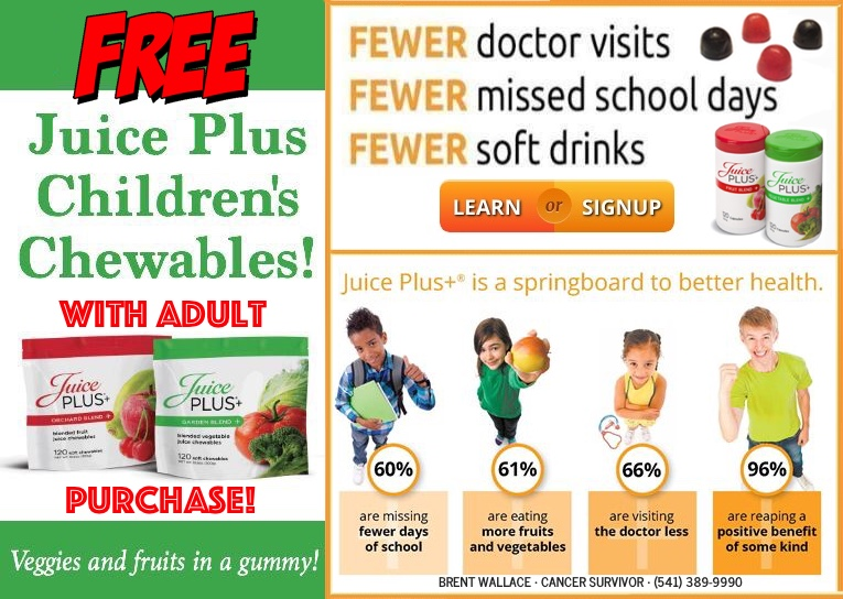 Free Children's Chewables • Click for Details